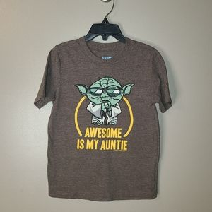🐞7/$25 Star Wars Tee by Old Navy, boys 5T